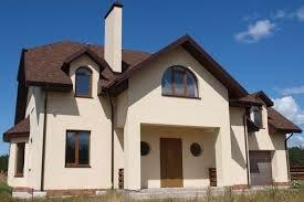 Отделка фасадов домов в Подмосковье